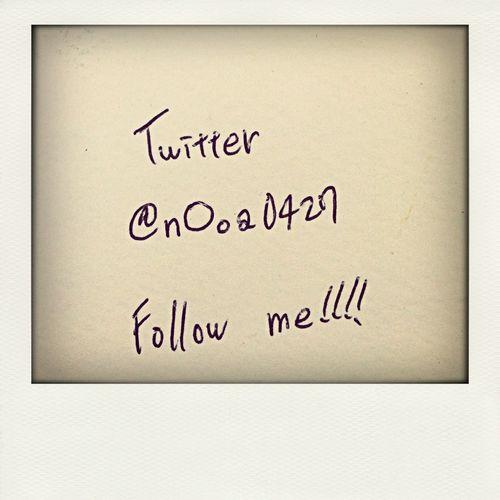 Twitter Follow Me On Twitter  Please follow me!!!