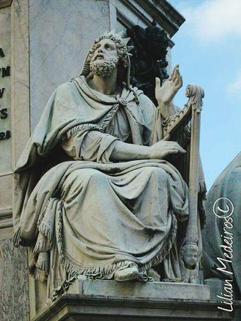 Italy Italia Vacations History Reflexão  No People Roma Architecture Human Representation Statue