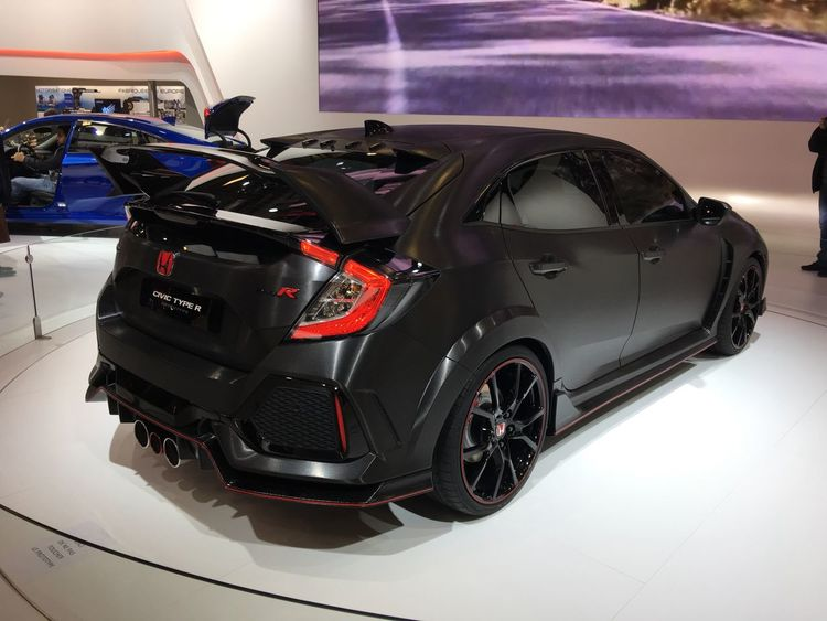 Mode Of Transport Car Performance Sportscar Black Honda Civic Honda Type R