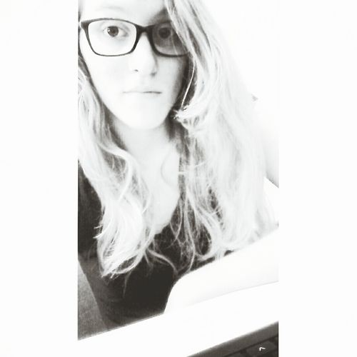 Blackandwhite That's Me Ugly Face Girl