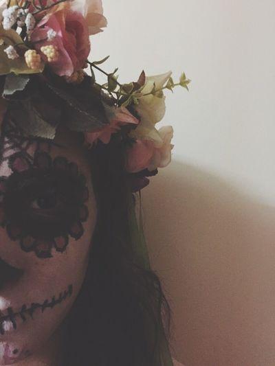 Sugerskull Makeup