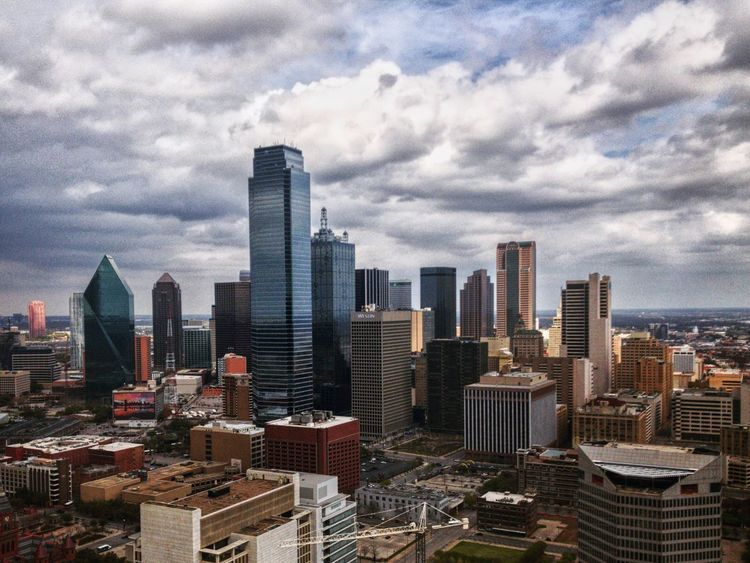 Dallas is dope. City Skyscraper Cityscape Building Exterior Architecture Urban Skyline Modern Sky Cloud - Sky No People Outdoors Built Structure City Life Downtown District Day