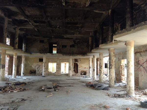 Built Structure Destruction Indoors