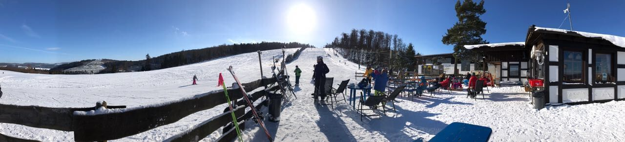 Winterberg Panorama Cold Temperature Weather Nature Winter Sport Sunlight