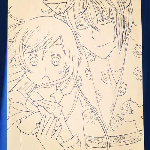 Drawing Kamisama Hajimemashita Dream Yukilumurioshi