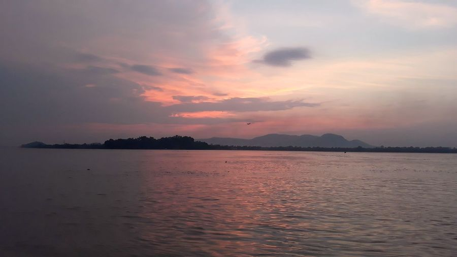 River Landscape Landscape_Collection Beauty In Nature Calm Serene Guwahati Brahmaputra Mobilephotography Mobile Photography Click Click 📷📷📷 Click EyeEmNewHere Noedit NoEditNoFilter Water Sunset Blue Backgrounds Red Sun Beauty The Great Outdoors - 2018 EyeEm Awards The Traveler - 2018 EyeEm Awards