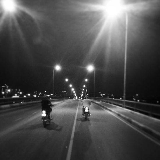 Blackandwhite Streetphotography Night Vietnam Saigon Motorbike