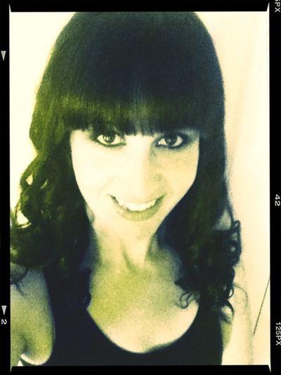 Curled hair GHD