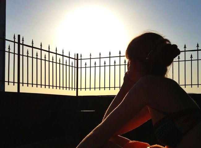 Sunset Good Times Girlfriend Rooftops