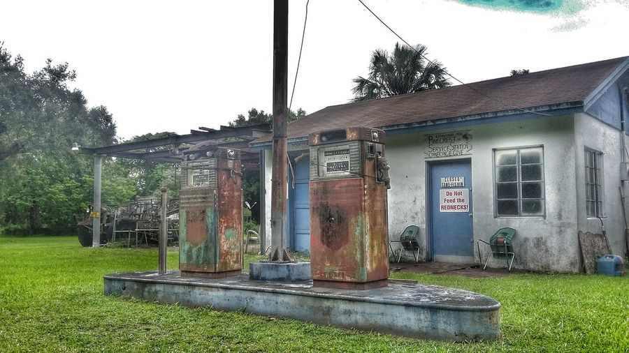 Vintage Gas Station Oldschool Rarefind Florida Exploretheunknown Taking Photos Gas Pump Historic Historic Site
