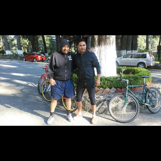 Rudar con mi padre feliz Bike Run Runner Running Fit Runtoinspire Tr Runhappy Instagood Time2run Instafit Fitness Cardio Training