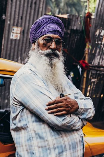 Miles Away Beard Taxi India Incredibleindia Portrait Only Men Turban VSCO Eye4photography  The Week Of Eyeem Check This Out EyeEm Best Shots Travel Photography Vscocam Documentary Journey Colorful Streetphotography ASIA Kolkata City Colours Transportation Yellow Taxi