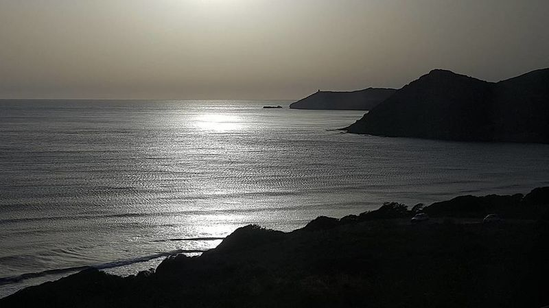 Sardegna Sardegna Italy Landscape Silhouette Tranquil Scene Water's Edge Sunset Outdoor Pursuit Sea Horizon Over Water Landscape Beauty In Nature Tranquility Nature Beach Travel Destinations Outdoors Scenics