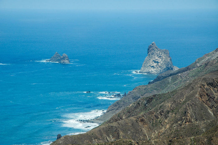 Beauty In Nature Blue Canarias Canarias Islands Canary Islands Day High Angle View Horizon Over Water Mountain Nature Nautical Vessel No People Outdoors Scenics Sea Sky Taganana Teide Tenerife Tranquil Scene Tranquility Water