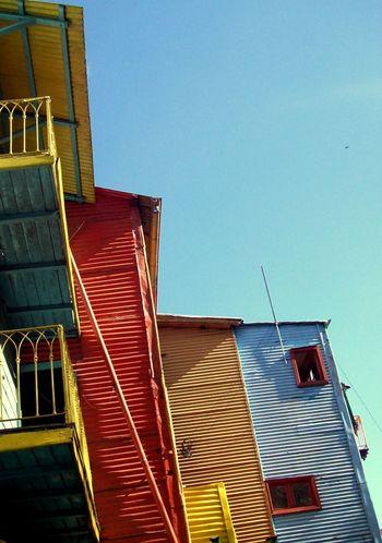 Argentina Photography Barrio Buenos Aires Caserio Chapa Colour Houses La Boca Fresh On Eyeem  Colour Of Life The City Light