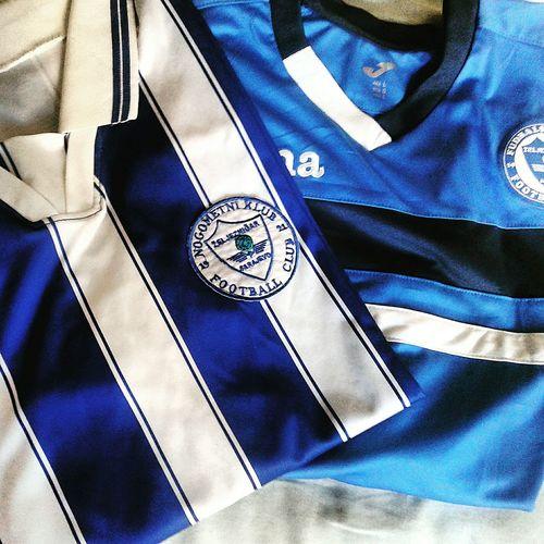 Fkz Zeljeznicar Zeljo Manijaci ™ The Maniacs Old Vs New Old Kit Oldschool New Shirt Stripes Blue White Joma Logo Grbavica Sarajevi Bosnia Derby Football