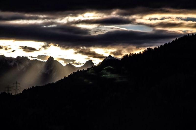 Sunrise in Tirol