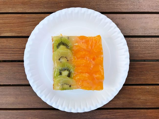 Piece Of Cake Fruit Cake  Cake Food And Drink Food Plate Freshness Sweet Food Ready-to-eat Table Sweet Directly Above Dessert Wood - Material Still Life No People Fruit Serving Size Indulgence Close-up