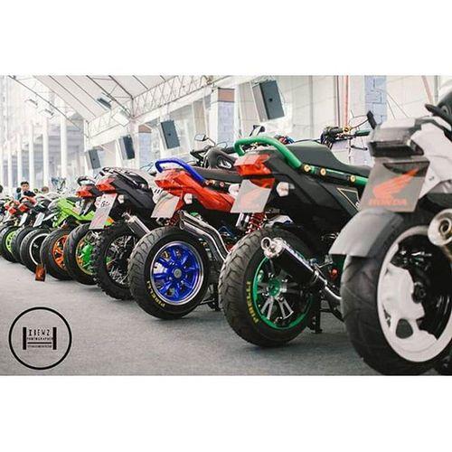 Bangkok Motorbike Festival 2016 BMF2016 Motorbike Motorbikefestival Motorcycle Zoomerx ZOOMER Honda Bigwheel Scooter Lowrider Flushstyle Bangkok Thailand
