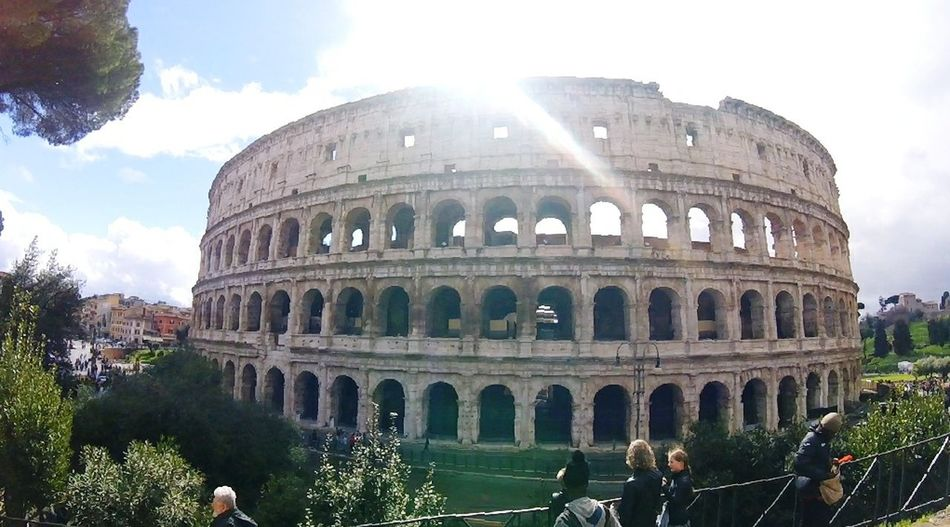 Colosseum Travel Destinations History Architecture Sky Tourism City Travel Old Ruin Ancient Cloud - Sky Sunbeam Dome People Day Outdoors Building Exterior Built Structure EyeEmNewHere Cold Italy Colesseo Colesseum Roma Destination