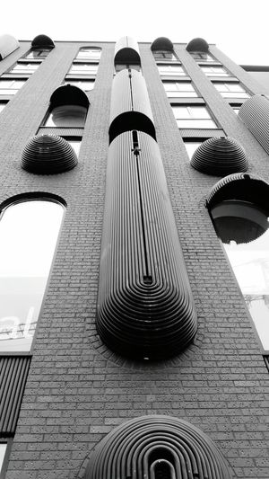 Fine Art Photography Architecture Architecture_collection Tallinn Estonia Shapes Monochrome Streetphotography Building Exterior Outdoors No Colors