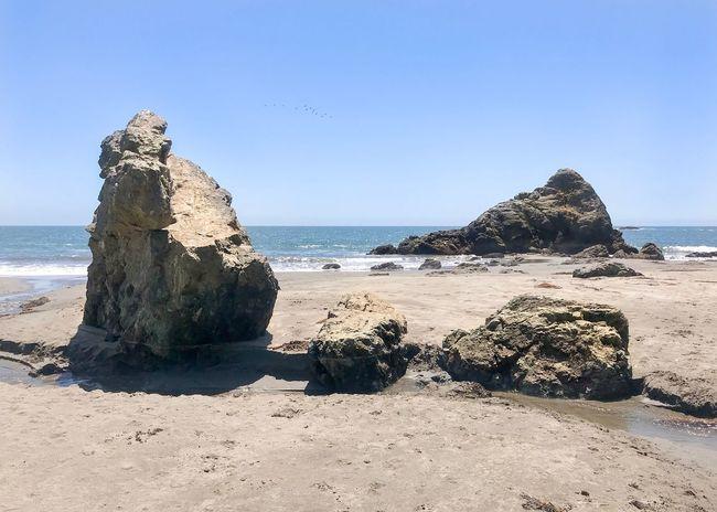 Beach Rock Pacific Ocean Muir Beach