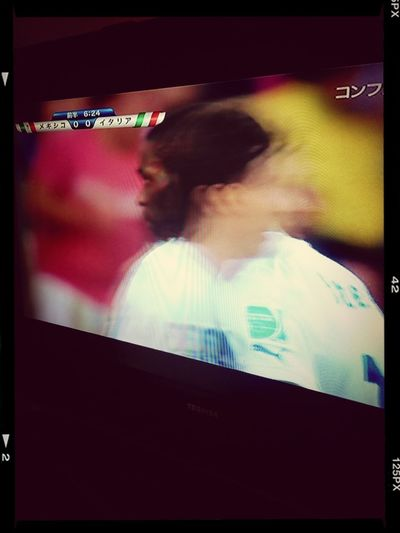 Wacthing Soccer