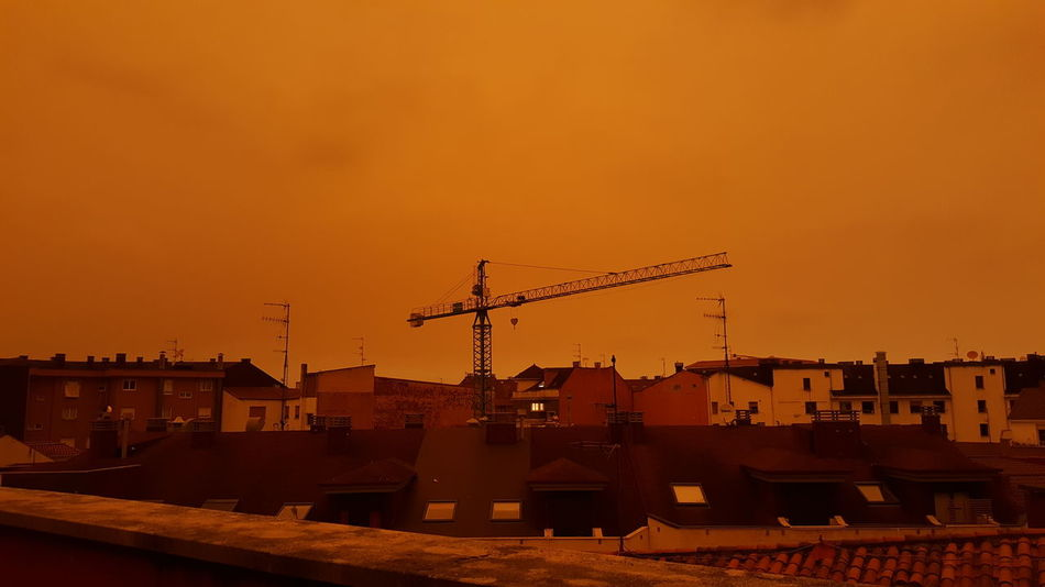 Burning Sky City Forest Smoke Sadness😢 Arson  Ashes Asturias Sky No Sun No People No Filter