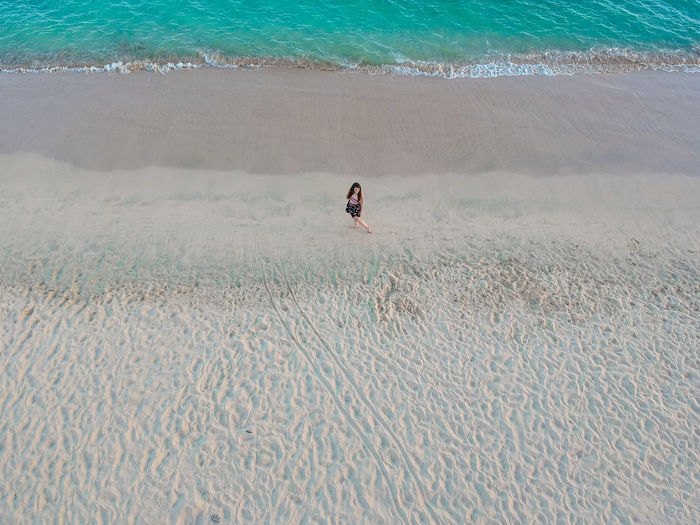 Canarias Canary Islands Drone  Fuerteventura Lady Beach Beauty In Nature Day Holiday Leisure Activity Lifestyles Men Motion Nature Ocean One Person Outdoors Real People Sea Sport Surfing Trip Vacations Water Young Woman