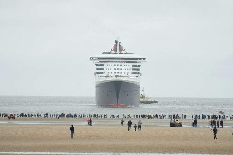 Queen Mary 2 Liverpool Check This Out World 1st