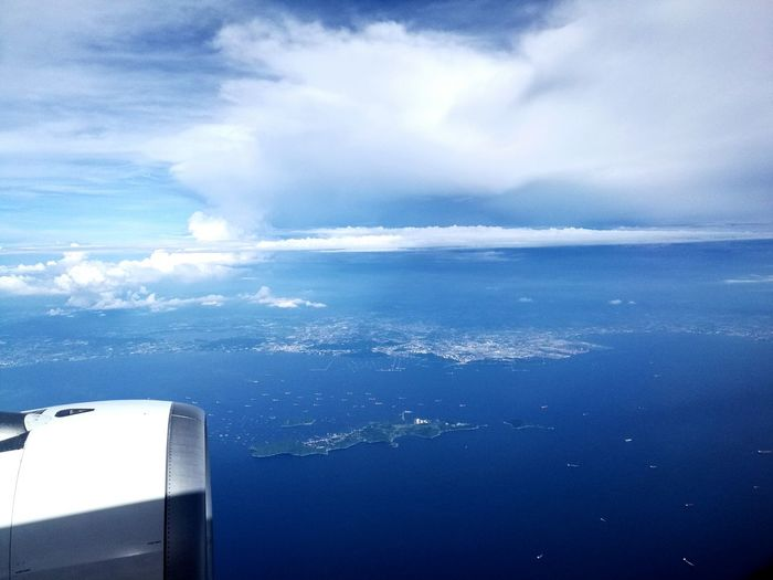 How I have already missing this.. Sea Blue Water Cloud - Sky Aerial View Scenics Nature Horizon Over Water Beauty In Nature Sky Outdoors Taking Photos Memories Thailand Life Is Beautiful Huaweiphotography Huawei Mate8 Huaweishot Plain & Simple Freedom