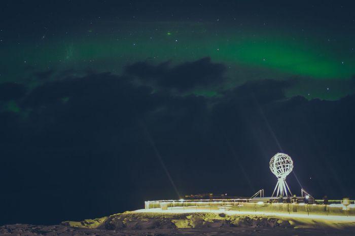 Sky Night Nordkapp Nordic Light Nordkapp Trip Norway Czech Republic Prostejov BorekaJarek Honningsvag Aurora Canon7d  35mm First Eyeem Photo