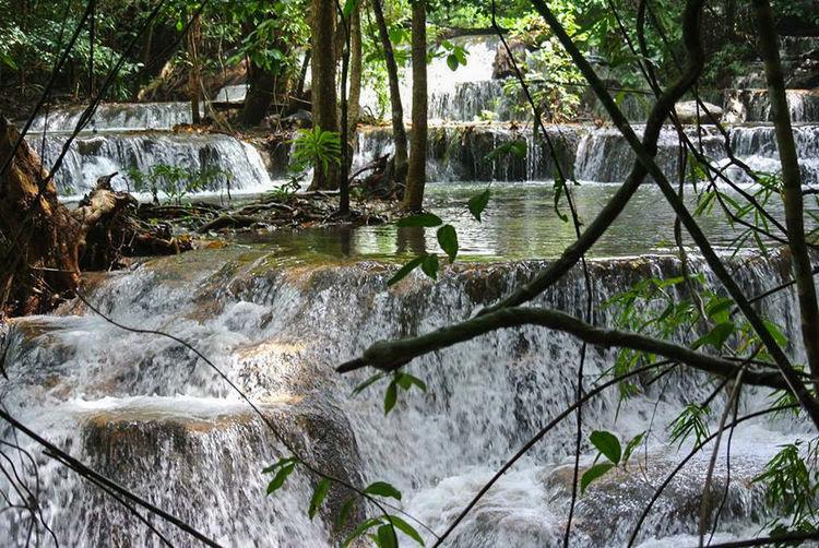 Water Nature Beauty In Nature Tranquility Waterfall EyeEmNewHere Swimming EyeEmNewHere