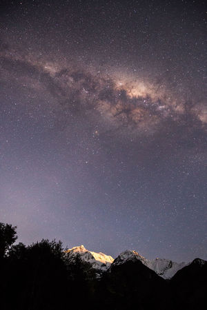Adventure Astrology Astronomy Beauty In Nature Constellation Dark Galaxy Milky Way Mountain Range Nature New Zealand Night No People Otago Outdoors Routeburn Track Science Sky Space Space And Astronomy Star - Space Star Trail