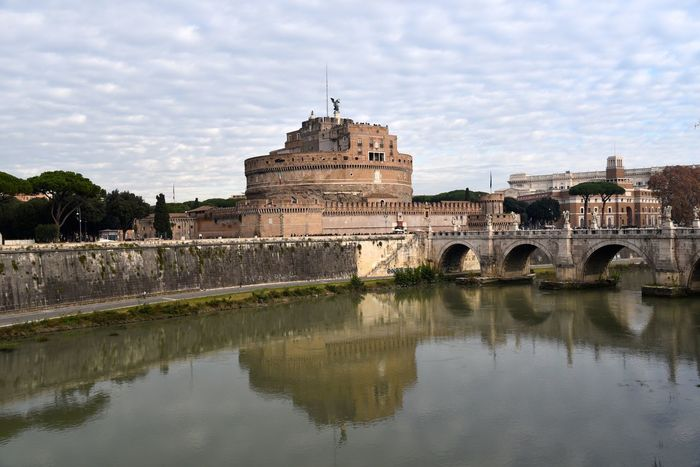 CASTEL SANT'ANGELO ROME Castel Sant'Angelo Castel Sant'Angelo ROME Italy❤️ Italy🇮🇹 Shadows Sky And Sea Water_collection