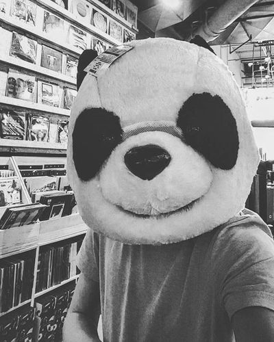 Day 20 and last day in Tampa, Florida Panda Pandas Pandamaske Pandamask Wwf Photooftheday Photographer Urbanoutfitters Urban Blackandwhitephotographer Blackandwhite Photo Pandabear Pandaexpress Bear Mask Wwfpanda Wwfmemes