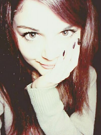 RedHAIR ❤ Eyesbrown Smile ✌ Happy :)