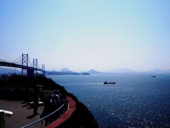 瀬戸内海 Sea Bridge Seto OlympusPEN Olympus