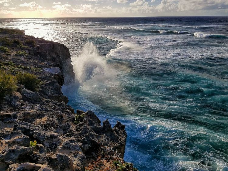 crashing waves Sea Water Beauty In Nature Nature Wave No People Scenics