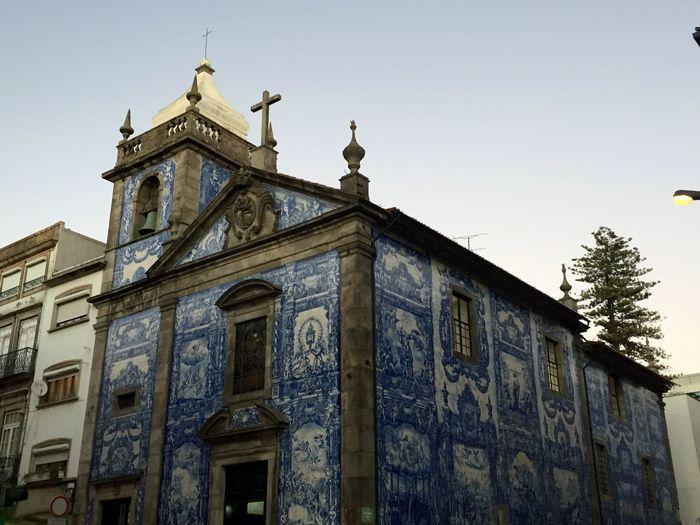 Porto Portugal Church Tiles Portuguese Tiles  Religious  Onthewall Downtown