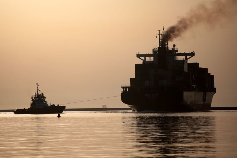 Cargo ship Water Sky Transportation Nautical Vessel Sunset Sea Ship Waterfront Nature Mode Of Transportation Industry Reflection Clear Sky Silhouette No People Outdoors Business Orange Color Freight Transportation