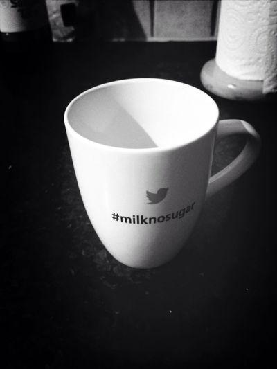 Saucy new mug, courtesy of @kimdarling! Milknosugar