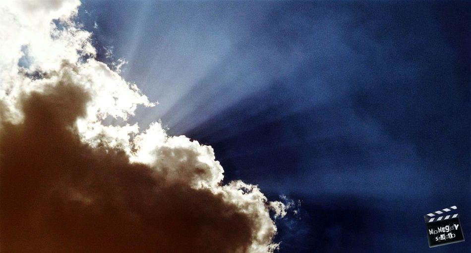 Clouds Clouds And Sky Sky Sunshine Rays Sun Rays Nature MoMagdyStudio