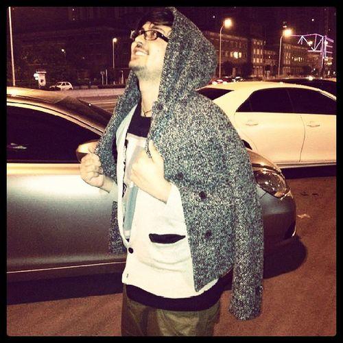 Tianjin Saagar Poser Undersized coat
