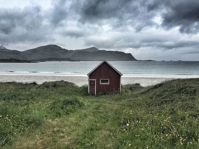 Beach Lofoten Islands Norway Noruega Lonely Home Protecting Where We Play Edge Of The World The Architect - 2016 EyeEm Awards