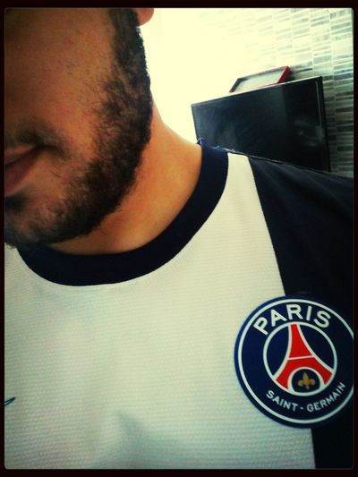 That's Me PSG  Paris Saint Germain Hello World