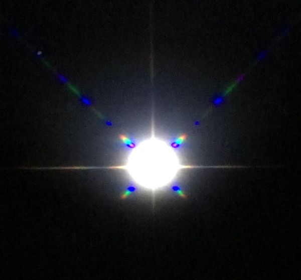 Light And Shadow Illuminated No People Astronomy Indoors  Nature Space Blue Refection