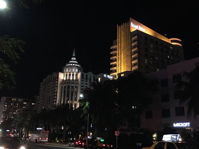 A few of the absolutely gorgeous buildings in South Beach
