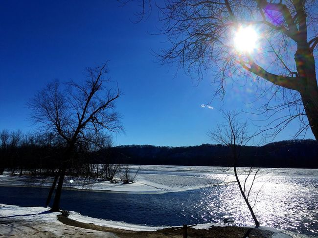 Sunshine Sunshine ☀ Sunshine! Winter 2016 Snowing ❄ Snow Snow❄⛄ Winter Landscape Wisconsin River Wisconsin Winter Wisconsinriver River Riverside Riverbank River View River Collection Riverview Ice River Side Riverside Photography Sand Bar Riverfront Winter In Wisconsin Frozen Nature Trees