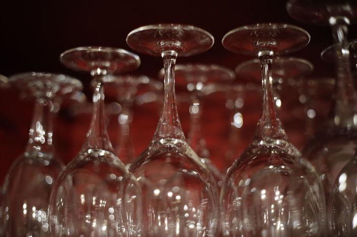 Grasse Reflection Bar Cap Freshness Lumière Rouge Verre De Vin